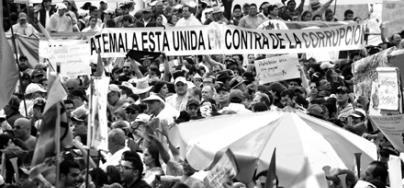 Guatemala esta unida contra la corrupción