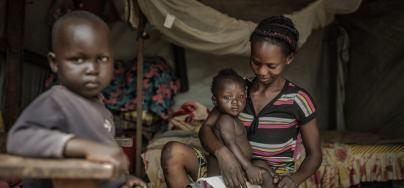 Retour à la case depart? Les promesses électorales un an après la transition en Centrafrique. Crédit: Pablo Tosco/Oxfam