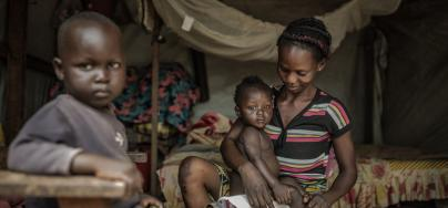 One in five Central Africans remain displaced or are refugees, and 58% of Central African refugees are children.  Photo: Pablo Tosco/Oxfam