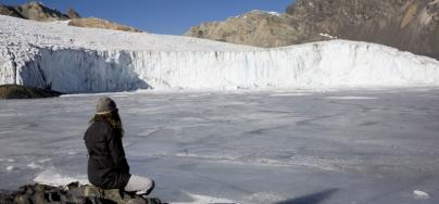 Pastoruri glacier, in Peru. Photo: Gilvan Barreto/Oxfam