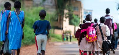 Children from different social classes go  to school in Uganda. Photo: Oxfam