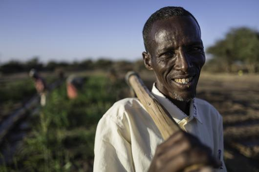 Barkad lives with his family in Ellahelay, a rural village in the Somali region of Ethiopia.