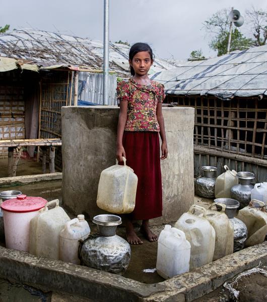 Ameena*, Cox's Bazar, Bangladesh - Covid-19 response