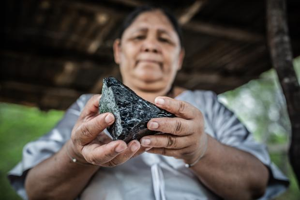 Janeth Pareja Ortiz (Ipuana community) is a defender of human, territorial and environmental rights.
