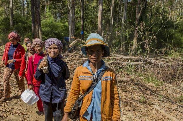 """""""The company tried every way to persuade us, they even bribed authorities, but the community still refused. They are still asking, and say 'if this generation does not accept, maybe the next one will.'"""" Photo credit: Savann Oeurm/Oxfam America"""