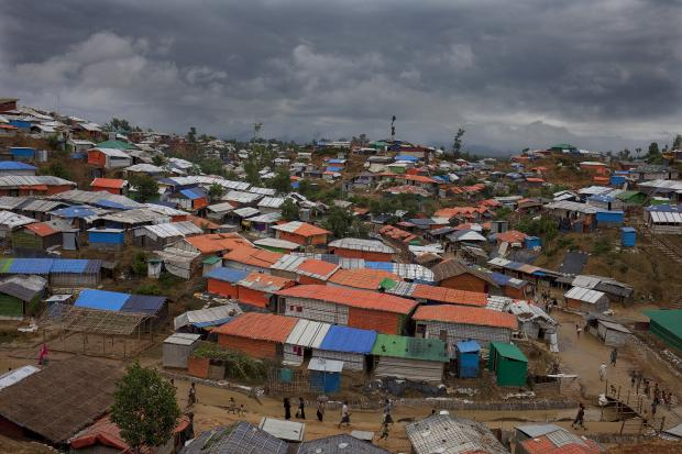 Scenes of the Rohingya refugee camp in Cox's Bazar during monsoon season