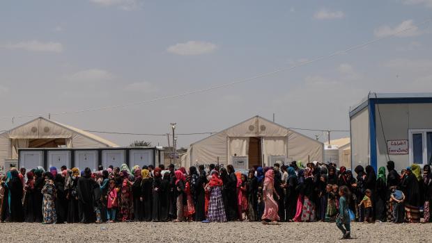Hamam Alil Transit Site, Iraq