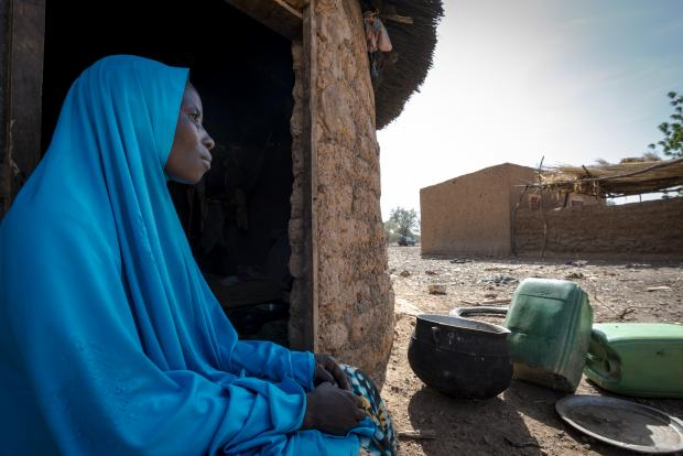 Barry (34) is a mother of four from Barsologho, in Burkina Faso.
